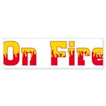 On Fire Sticker (Bumper 50 pk)