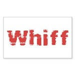 Whiff Sticker (Rectangle 10 pk)