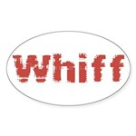 Whiff Sticker (Oval 50 pk)