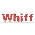 Whiff Sticker (Bumper 50 pk)
