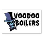 Voodoo Boilers Rectangle Sticker 10 pk)