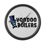Voodoo Boilers Large Wall Clock
