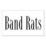 Band Rats Rectangle Sticker 10 pk)