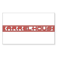 Barrelhouse Rectangle Sticker 10 pk)