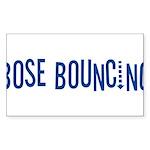 Bose Bouncing Rectangle Sticker 10 pk)