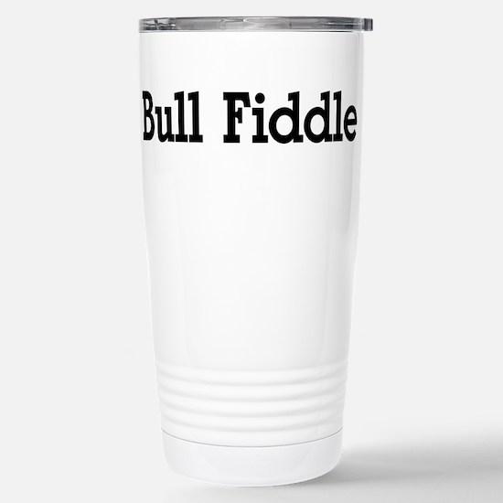 Bull Fiddle Stainless Steel Travel Mug