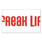 Freak Lip Rectangle Sticker 10 pk)