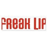 Freak Lip Bumper Sticker (10 pk)