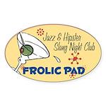 Frolic Pad Oval Sticker (50 pk)