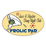 Frolic Pad Oval Sticker (10 pk)