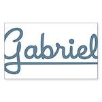 Gabriel Rectangle Sticker 50 pk)