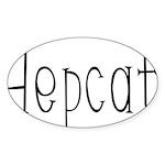 Hepcat Oval Sticker (50 pk)