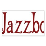 Jazzbo Rectangle Sticker 10 pk)