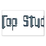 Top Stud Rectangle Sticker 50 pk)