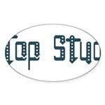 Top Stud Oval Sticker (50 pk)