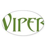 Viper Oval Sticker (50 pk)