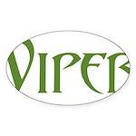 Viper Oval Sticker (10 pk)