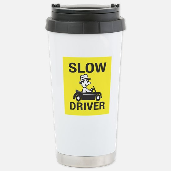 Slow Driver Stainless Steel Travel Mug