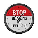 Stop Blocking Large Wall Clock