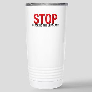 Stop Blocking Stainless Steel Travel Mug