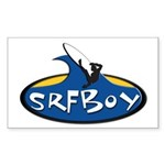 SRFBOY Rectangle Sticker 10 pk)