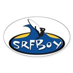 SRFBOY Oval Sticker (10 pk)