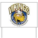 Vikings Yard Sign