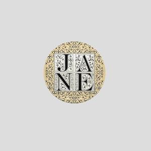 Jane Austen JANE Mini Button