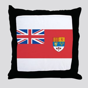 Canada Flag (old) Throw Pillow