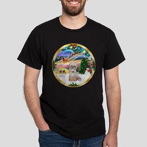 XmasMagic/Shih Tzu Dark T-Shirt