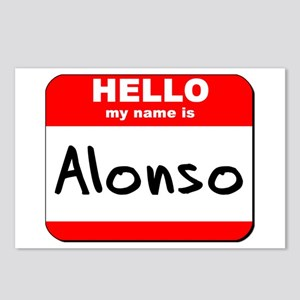 Hello my name is Alonso Postcards (Package of 8)