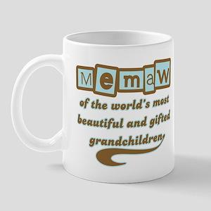 Memaw of Gifted Grandchildren Mug