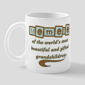 Memere of Gifted Grandchildren Mug