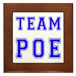 Team Poe Framed Tile