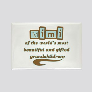 Mimi of Gifted Grandchildren Rectangle Magnet