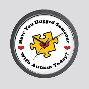 Have You Hugged Autism Wall Clock