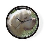 Clumber Spaniel Wall Clock