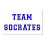 Team Socrates Rectangle Sticker