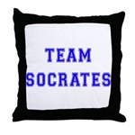 Team Socrates Throw Pillow