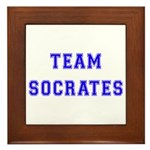 Team Socrates Framed Tile
