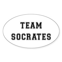 Team Socrates Oval Decal