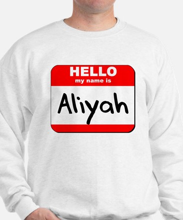 Hello my name is Aliyah Sweater