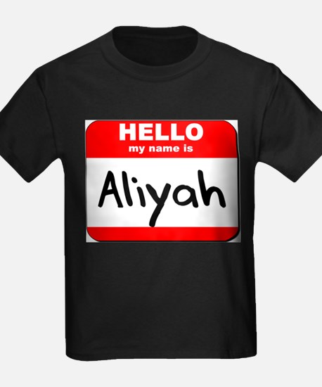 Hello my name is Aliyah T
