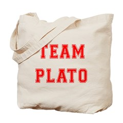 Team Plato Tote Bag