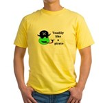 TOADILY LIKE A PIRATE Yellow T-Shirt