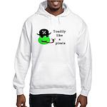 TOADILY LIKE A PIRATE Hooded Sweatshirt