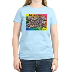 Ask Me About SMA Women's Light T-Shirt
