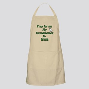 Pray for me My Grandmother is BBQ Apron