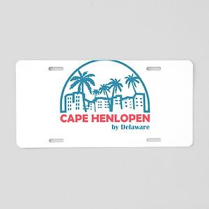 Delaware - Cape Henlopen Aluminum License Plate