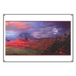 Campfire & Storm Banner